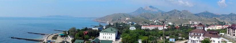 Крым. Курортное. Панорамы.