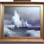 фото картины «Ледяные горы»