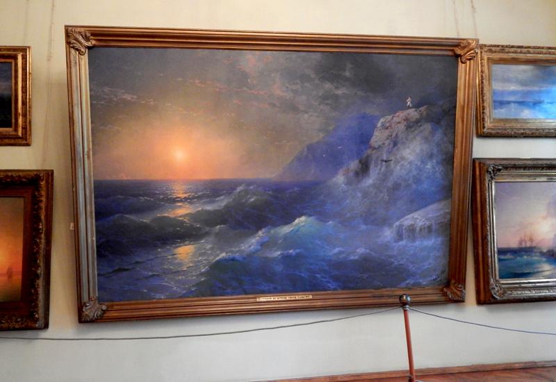 фото картины Наполеон на острове Святой Елены