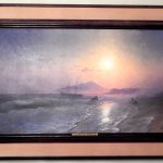 картина Айвазовского «Остров Иския близ Неаполя»