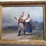 картина «Возвращение со свадьбы», Айвазовский