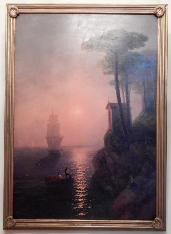 Картина «Туманное утро в Италии»